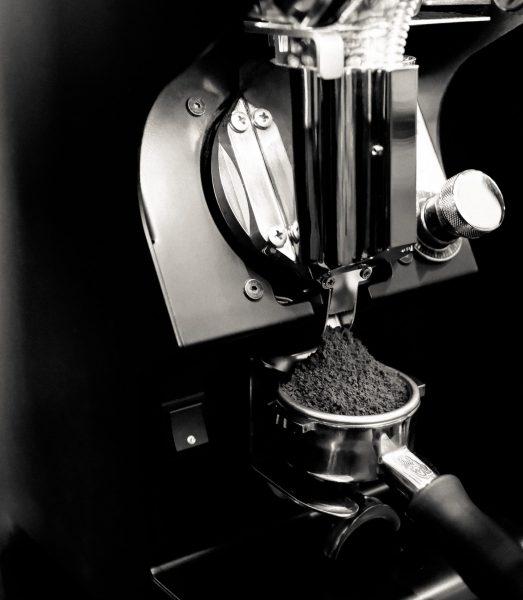 Kaffemühle Siebträgermaschine