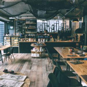 im cafe arbeiten